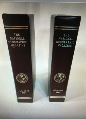 1992 The National Geographic Magazine Complete Year Set Incl Some Maps-12 Issues for Sale in Clearfield, UT