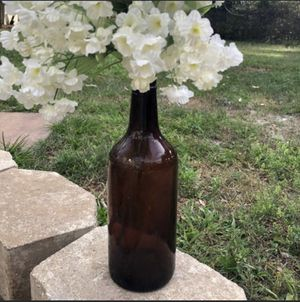 Antique Amber glass liquor bottle for Sale in Deltona, FL