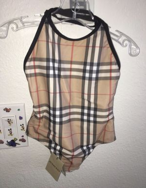 Authentic brand new swimwear Burberry for Sale in Harbison Canyon, CA