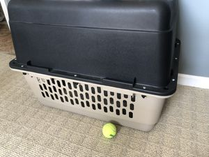 Dog crate brand new my dog only use it for a couple times for Sale in Rock Hill, SC