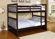 Full / Full --- Bunk Bed frame $49 down payment... We take payments for Sale in Las Vegas, NV