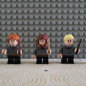 LEGO Harry Potter Minifigures from 75954 (Hermione, Draco, Ron, Susan Bones) for Sale in Fullerton, CA