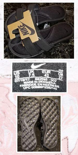 Nike Women Ultra Comfort Slide Sandal Black Sz10 NwT for Sale in Chula Vista, CA