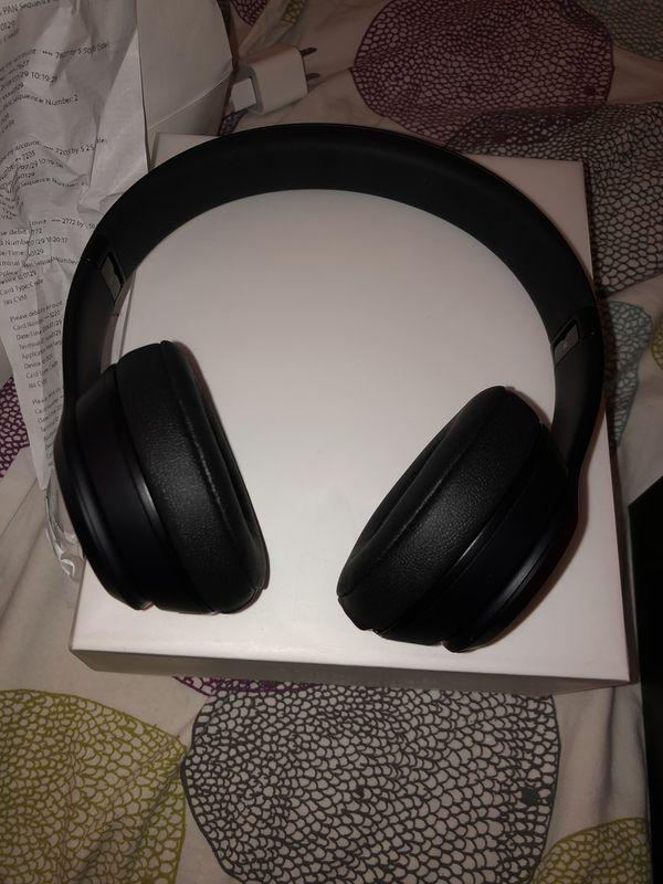 Beats Solo 3's Wireless Headphones Matte Black