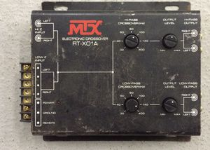Mtx car audio crossover for Sale in Pittsburgh, PA
