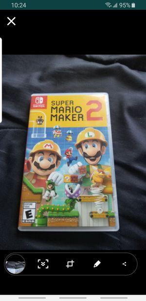 SMM2 Nintendo Switch for Sale in Seattle, WA