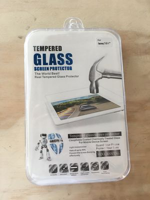 "Samsung Tab 4.7"" Tempered glass screen protector for Sale for sale  Queens, NY"