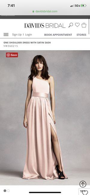Vera Wang David's Bridal Blush Dress for Sale in Colma, CA