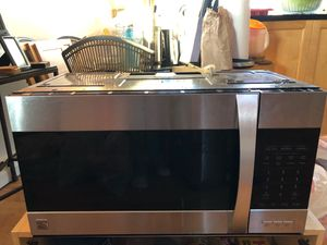 Kenmore Elite Over the Range Microwave for Sale in Vernon, CT