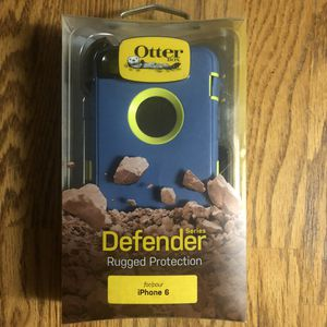 OtterBox Defender series phone case for IPhone 6 for Sale in Diamond Bar, CA