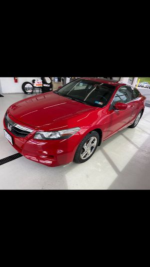 Red Honda Accord Coupe with sunroof. New tires, newly painted front end, new inspection, new battery, excellent condition. for Sale in Staunton, VA