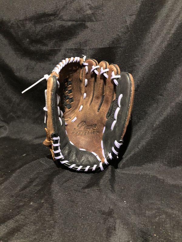 Assorted Softball and Baseball gloves.