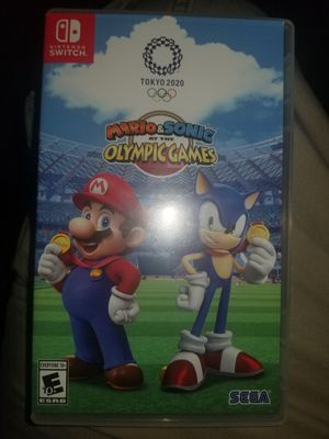 Nintendo Switch Mario & Sonic at the Olympic Games Tokyo 2020 for Sale in Diamond Bar, CA