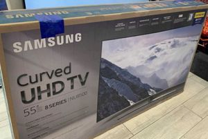 "55"" curve smart Samsung 4k hdr HD TV for Sale in Garden Grove, CA"