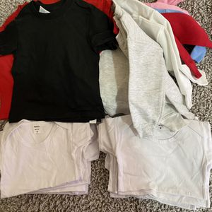 Bundle Of Kid Sweat Shirts, T Shirts, Onesies for Sale in Philadelphia, PA