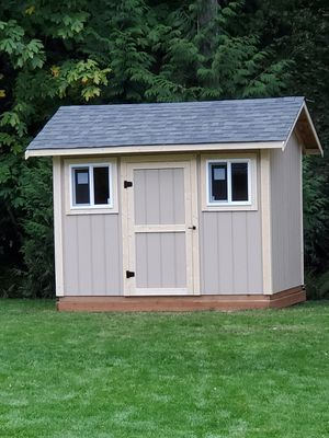 Brand new custom built 8 x 10 shed on your site for Sale in Federal Way, WA