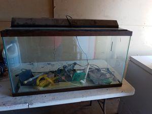 50 gallon fish tank for Sale in Oklahoma City, OK