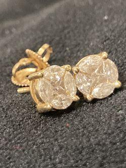 14k Diamond Earrings for Sale in Norcross,  GA