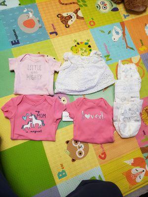 Newborn onesis for Sale in Stanton, CA