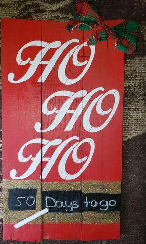 Handmade pallet sign for Sale in Lawton, OK