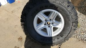 Factory stock Jeep Wheel and Tire brand new for Sale in Reedley, CA