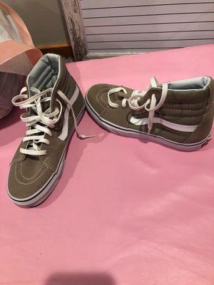 Beige vans high tops sneakers for Sale in Camano, WA