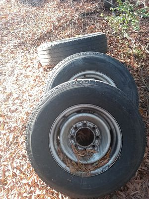 Or 16 8 lug rims and tires come off of my Chevy van for Sale in Charlotte, NC