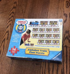 Thomas and friends alphabet train puzzle for Sale in Trappe, PA