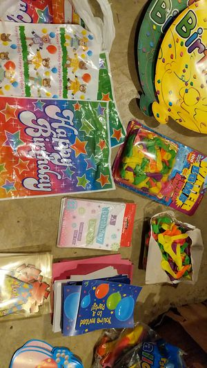 Misc. Kids birthday supplies for Sale in Conestoga, PA