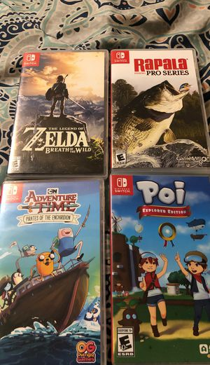Nintendo switch games for Sale in Bakersfield, CA