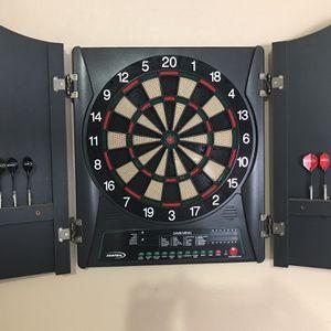 Electric Helix Cabinet Dartboard for Sale in San Antonio, TX