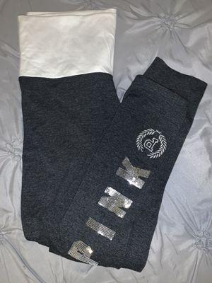 Dark grey Victoria Secrete / Pink Leggings . for Sale in Garden Grove, CA