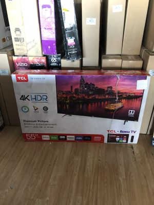 55 TCL P605 ROKU TV for Sale in Las Vegas, NV