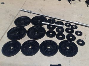 Barbell weights set for Sale in Phoenix, AZ