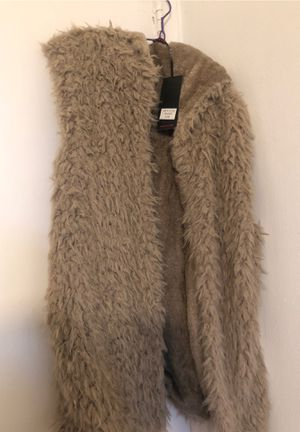 Hooded fur vest for Sale in Los Angeles, CA