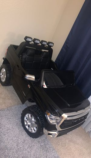 Toyota Tundra electric toy truck for Sale in Murrieta, CA