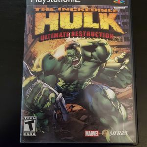 The Incredible Hulk Ultimate Destruction PlayStation 2 PS2 for Sale in Mesa, AZ