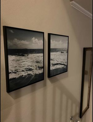 11x14 Set of Framed Ocean Prints for Sale in Washington, DC