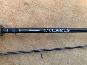"Shimano Clarus 8'6"" salmon/steelhead fishing rod for Sale in Los Angeles, CA"