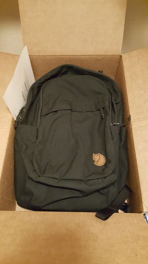 Fjallraven Raven Backpack for Sale in Phoenix, AZ