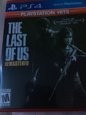 the last of us remastered for Sale in Dauphin, PA