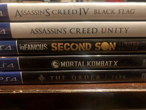 PS4 Game Bundle for Sale in Edgewood, TX