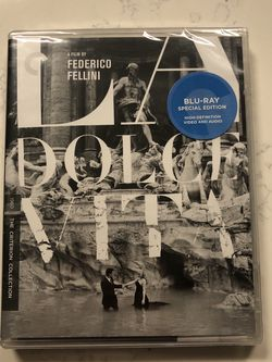 La Dolce Vita The Criterion Collection Blu Ray Out Of Print for Sale in Haines City,  FL