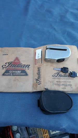 Motorcycle Indian lock for Sale in Huntington Beach, CA