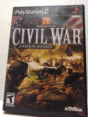 PS2 Civil War game for Sale in Brainerd, MN