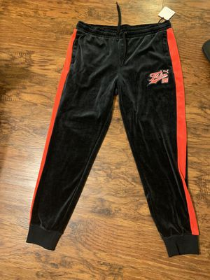 Men's Fubu/Puma velour pants size XL for Sale in Bowie, MD