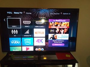 "65"" tcl Roku smart TV . for Sale in San Angelo, TX"