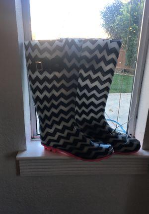 Rain boots size 10 for Sale in Suisun City, CA