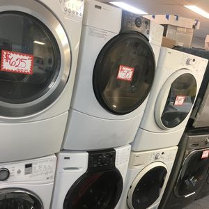 KENNORE FRONT LOAD WASHER AND DRYER SET IN EXCELLENT CONDITION for Sale in Laurel, MD