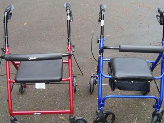 4 Wheel Walkers With Brakes $ 25./each for Sale in Bremerton,  WA